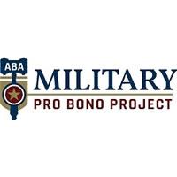 Military pro bono project logo